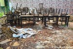 Abandoned Restaurant Chairs