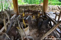 Abandoned Tools At Themed Park