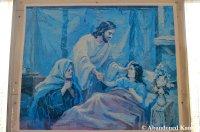 Abandoned Christian Painting