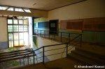 Decaying School Hallway
