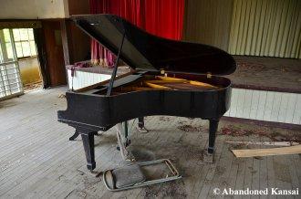 Deserted Grand Piano