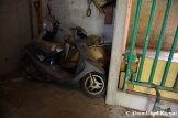 Abandoned Honda Dio Scooter
