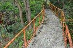 Concrete Path Leading Up TheMountain