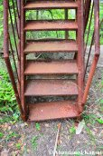 Extremely Rusty Metal Stairs