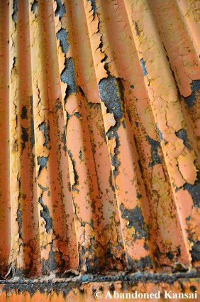 Orange Paint And Rust