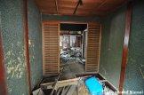 Entrance Of An Abandoned Western Style Japanese House