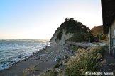 Rocky Beach In Japan