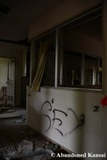 Dark Corner In An Abandoned Hospital