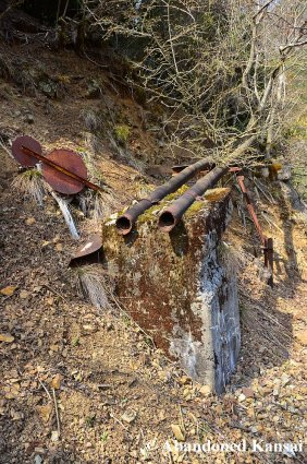 Rusty Mining Pipes