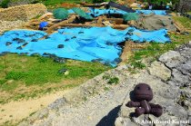 Sackboy At An Archaeological Excavation