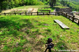 Sackboy At The Ruins Of Tottori Castle