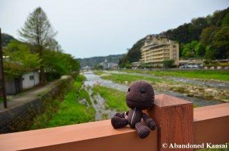 Sackboy Explores Misasa Onsen