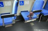 Sackboy Rides A Bus In Japan