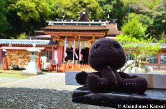 Sackboy Visits A Shrine