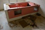 Vandalized Hospital BathTub