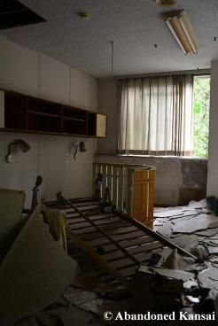 Vandalized Hospital Bedroom