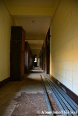 Abandoned Youth Hostel Hallway