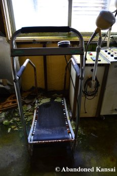 Abandoned Hospital Treadmill