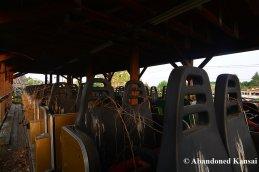 Abandoned Roller Coaster Karts