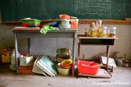 Abandoned School Storage
