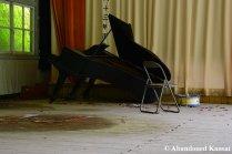 Broken Grand Piano