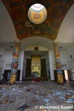 Niigata Russian Village Church Inside