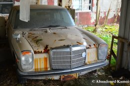 Old Mercedes Benz Beyond Repair