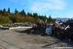 Piles Of Debris In TheMountains