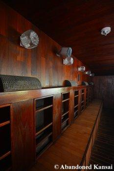 Beautiful Abandoned Wooden Sauna