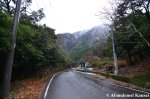 Japanese Mountain Road On An Early WinterDay