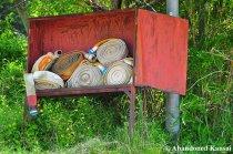 Abandoned Fire Hoses