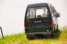 Abandoned Mitsubishi Minicab