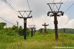 Abandoned Ski Lifts On MountIbuki