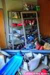Abandoned Ski Shoes