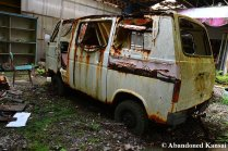 Abandoned Suzuki Carry