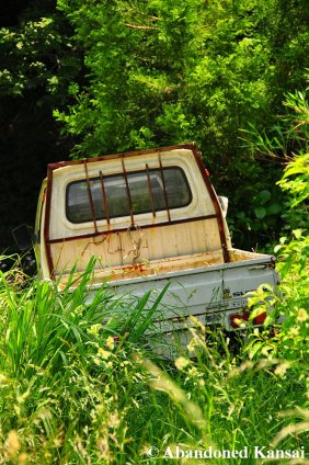Abandoned Suzuki Kei Truck