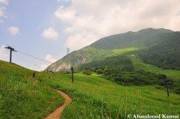 Climbing Mount Ibuki
