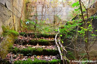 Construction Ruin Staircase