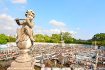 Water Fountain Statue At Nara Dreamland