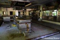 Abandoned Hospital Kitchen