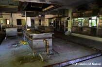 Abandoned Hospital Kitchen