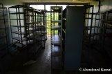 Abandoned Metal Shelves
