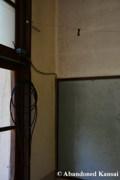 Corner Of An Abandoned Class Room