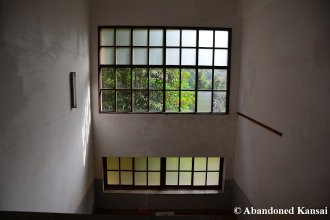 School Staircase With Lots Of Windows