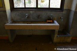 Sink In An Abandoned School