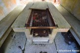 Abandoned Concrete BBQ Table