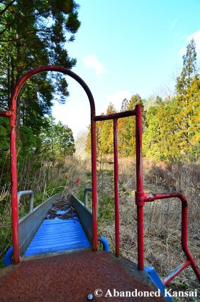 Abandoned Curved Slide