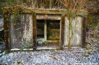 Concrete Toilet Stall