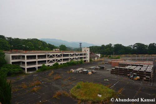 Nara Dreamland Scaffolding