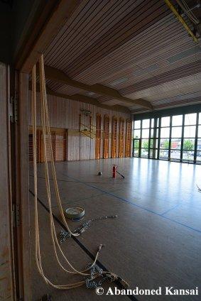 Abandoned German School Gymnasium